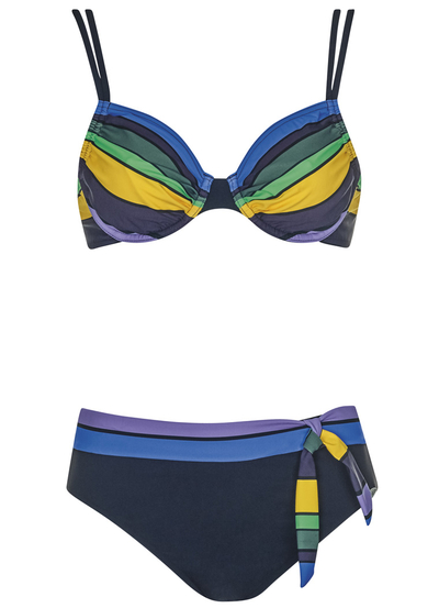 COLORFUL STRIPES Bikini 21106